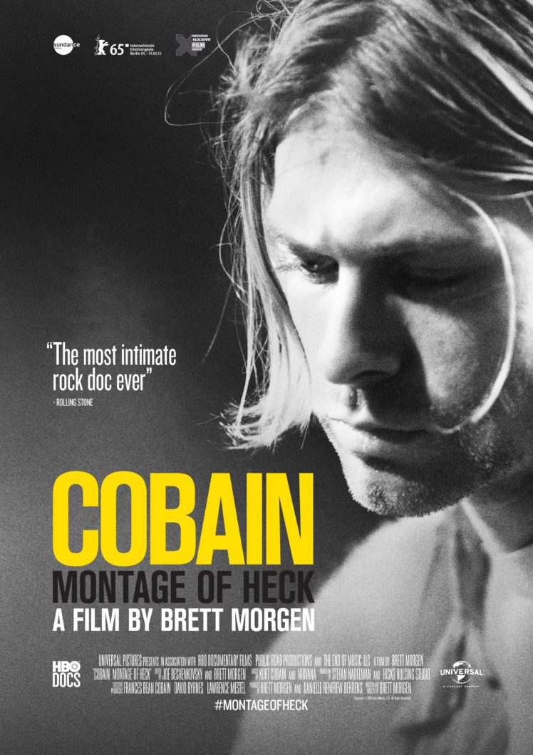 Movies Kurt Cobain Montage Of Heck Movie Poster Kurt