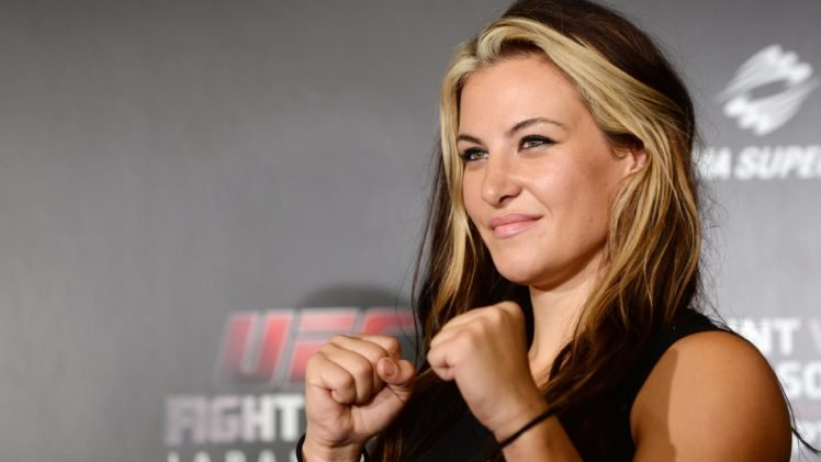 Miesha Tate, Blonde, Mma, Mixed martial arts, UFC HD Wallpaper Desktop Background