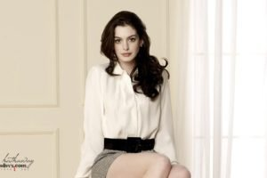 celebrity, Anne Hathaway, Women, Actress, Brunette