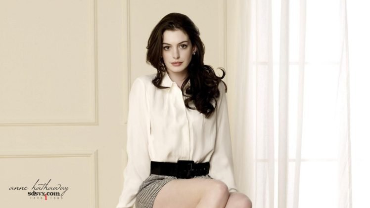 celebrity, Anne Hathaway, Women, Actress, Brunette HD Wallpaper Desktop Background