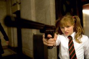 Chloë Grace Moretz, Hit Girl, Gun