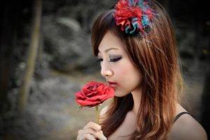 Asian, Women