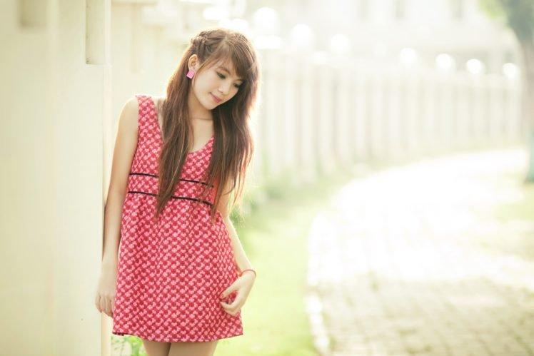 Asian, Women, Brunette HD Wallpaper Desktop Background