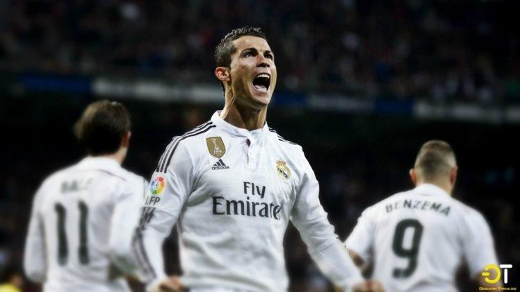 Cristiano Ronaldo Real Madrid Hd Wallpapers Desktop And