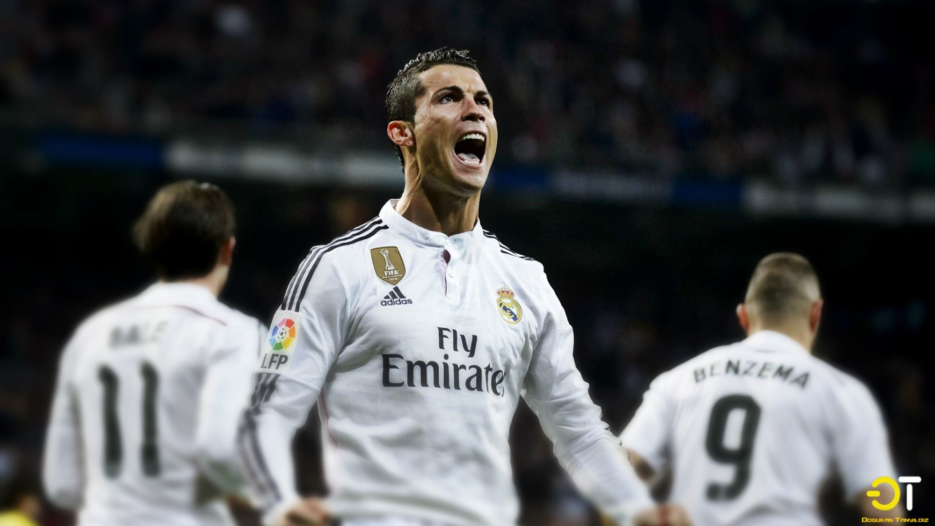 Cristiano Ronaldo Real Madrid Hd Wallpapers Desktop And