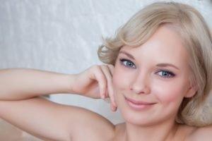 Feeona A, Blonde, Model, Women