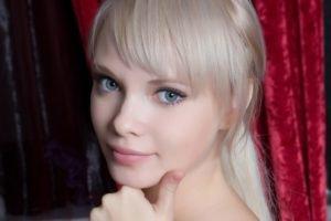 women, Feeona A, Blonde, Model