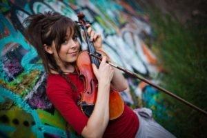 Lindsey Stirling, Women, Violin, Strings