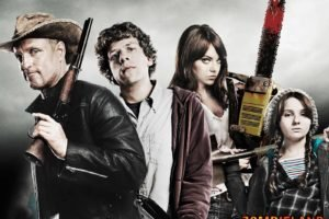 movies, Zombies, Gun, Zombieland