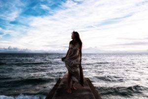 sea, Women
