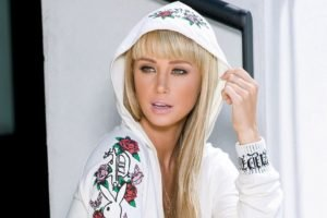 Sara Jean Underwood, Blonde, Women, Green eyes