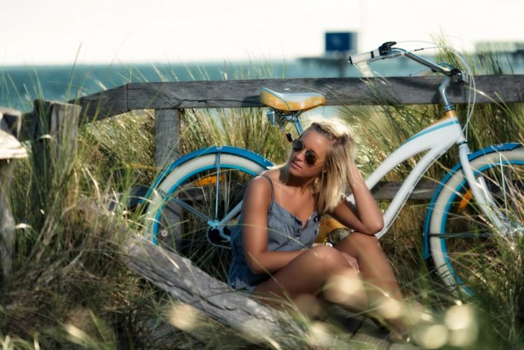 women, Women outdoors, Blonde HD Wallpaper Desktop Background