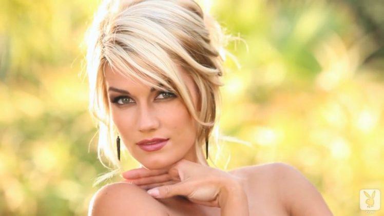 women, Playboy, Blonde HD Wallpaper Desktop Background