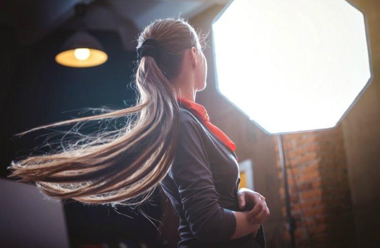 women, Brunette, Model, Portrait, Simplicity, Long hair HD Wallpaper Desktop Background