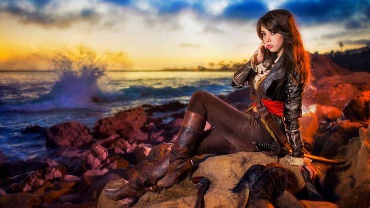 cosplay, Monika Lee HD Wallpaper Desktop Background