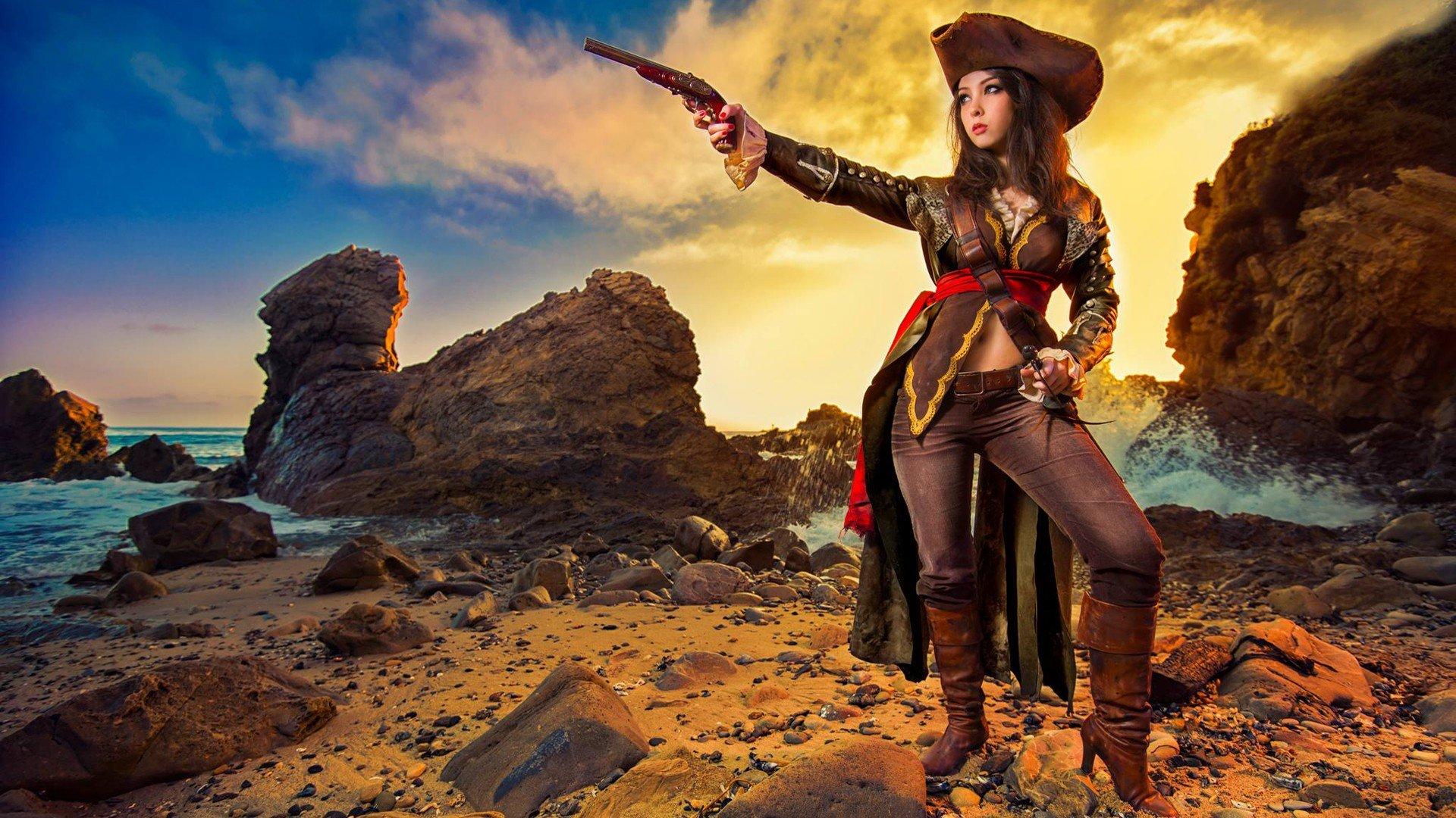 Monika Lee Assassins Creed Cosplay Hd Wallpapers Desktop And
