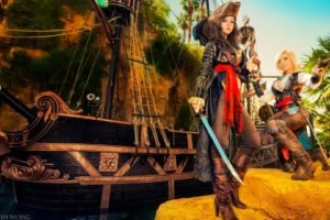 Monika Lee, Jessica Nigri, Assassins Creed, Cosplay, Pirates