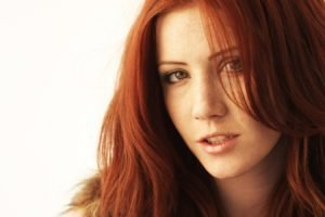 Elle Alexandra, Redhead, Women, Face