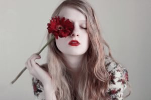 flowers, Women