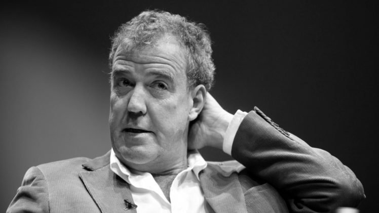 men face monochrome short hair suits jeremy clarkson celebrity