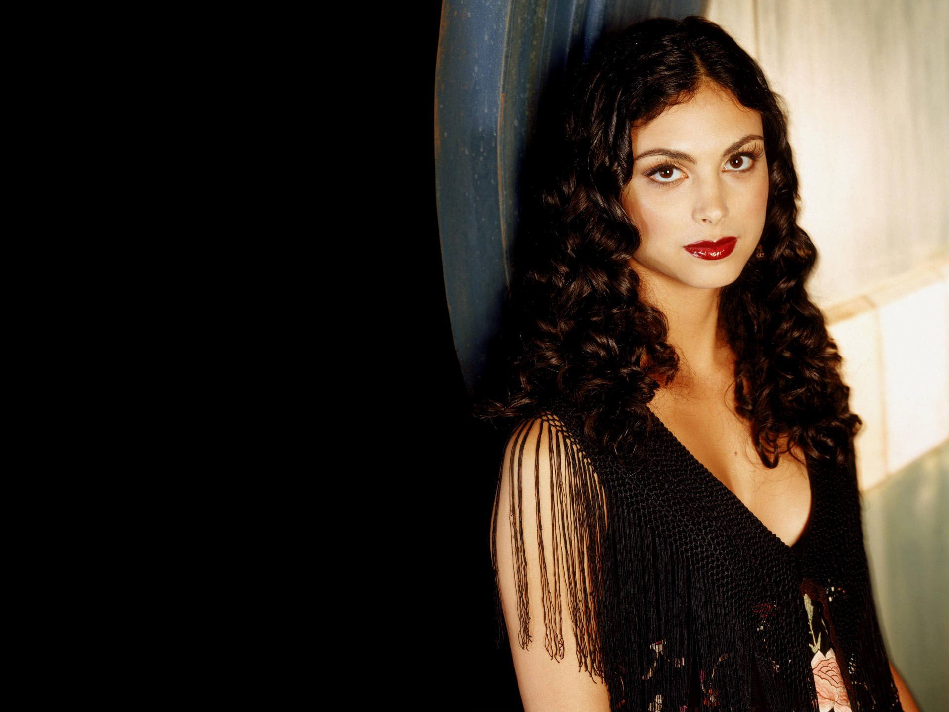 Morena Baccarin Women Actress Firefly Brunette Curly Hair Brown Eyes Long Hair Hd Wallpapers Desktop And Mobile Images Photos