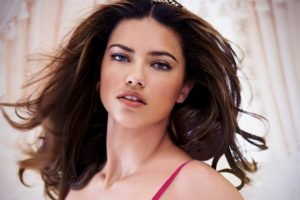 Adriana Lima, Women, Model, Brunette, Blue eyes, Face