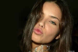 Adriana Lima, Women, Brunette, Model, Face