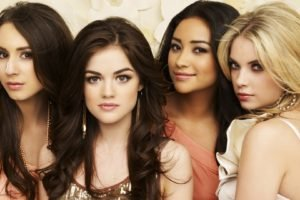 Pretty Little Liars, Troian Bellisario, Ashley Benson, Lucy Hale, Shay Mitchell, Women