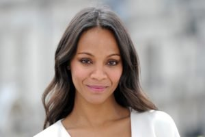 women, Actress, Brunette, Zoe Saldana, Face