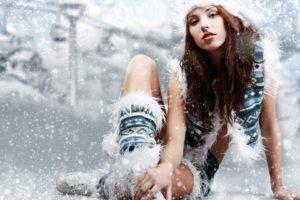 snow, White