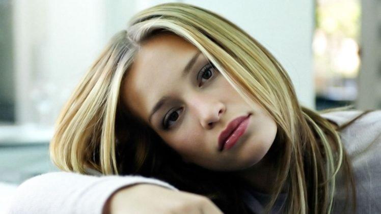 Piper Perabo, Blonde, Women, Face HD Wallpaper Desktop Background
