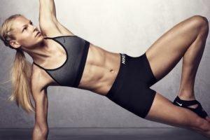 Darya Klishina, Women, Blonde, Athletes, Sports bra