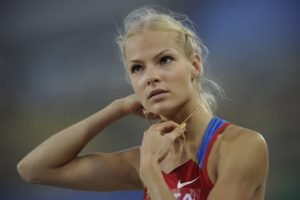 Darya Klishina, Women, Blonde, Athletes