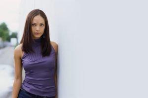 brunette, Kristin Kreuk, Actress, Blouses, Women