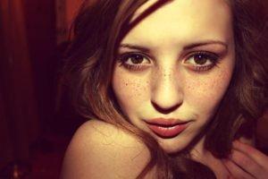 MadiHicks, DeviantArt, Face, Freckles