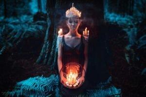 candles, Women, Model