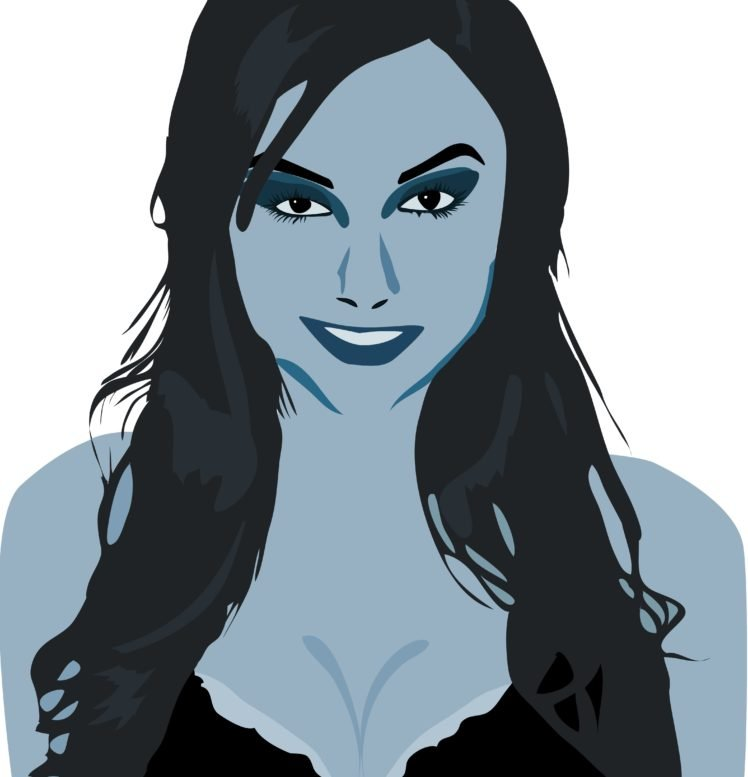 Sasha Grey Blue Boobs Star Trails Hd Wallpapers Desktop