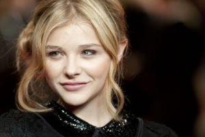 women, Blonde, Chloë Grace Moretz, Face, Actress, Green eyes