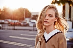 women, Blonde, Face, Ginta Lapina, Model
