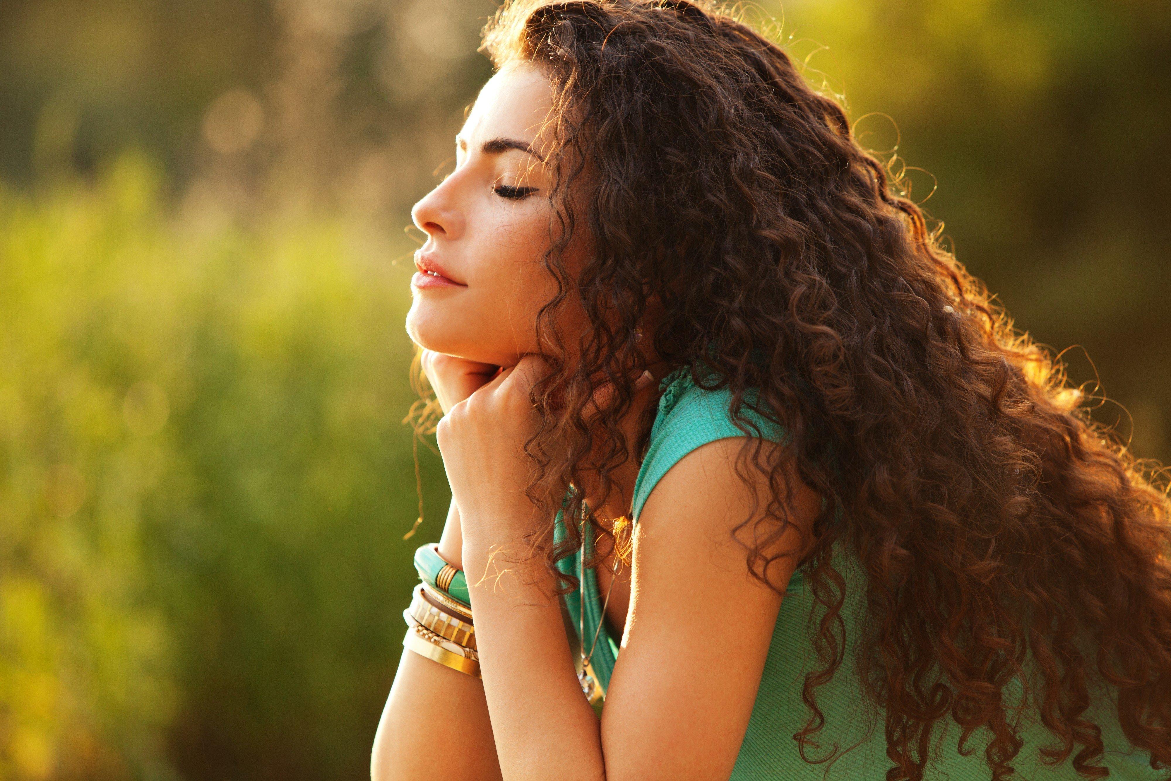 women, Model, Brunette, Long hair, Women outdoors, Hair in