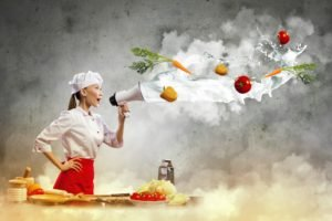 women, Model, Brunette, Asian, Long hair, Cook, Kitchen, Skirt, Vegetables, Tomatoes, Peppers, Carrots, Table, Plates, Photo manipulation