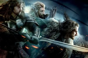 movies, The Hobbit, The Hobbit: The Battle of the Five Armies, Thorin Oakenshield, Dwarfs