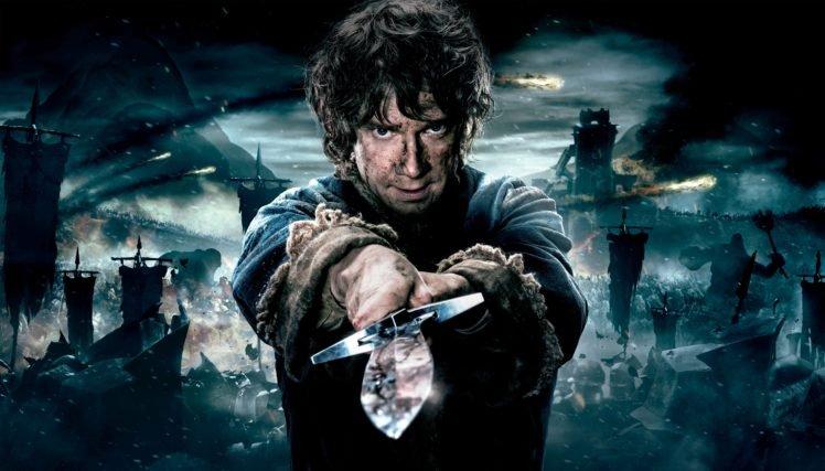 movies, Bilbo Baggins, Martin Freeman, The Hobbit: The Battle of the Five Armies, The Hobbit HD Wallpaper Desktop Background