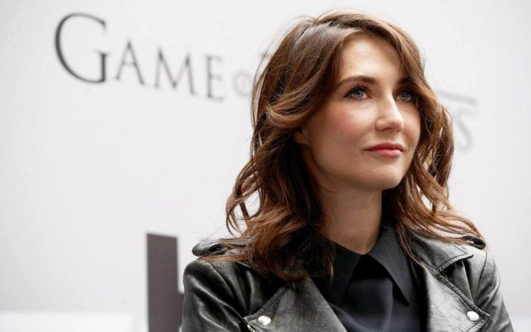 Carice van Houten, Women, Game of Thrones, Blue eyes, Auburn hair HD Wallpaper Desktop Background