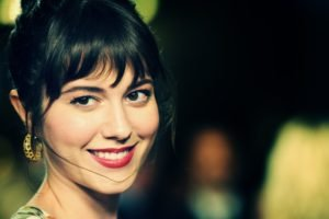 Mary Elizabeth Winstead, Dark hair, Women, Face, Brunette, Smiling