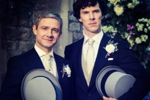 Sherlock, Benedict Cumberbatch, Martin Freeman, Weddings