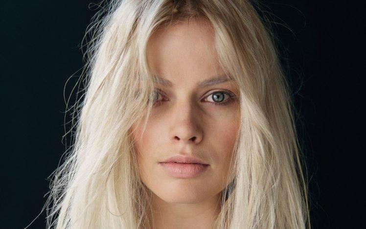 Margot Robbie Women Blonde Face Blue Eyes Hd Wallpapers