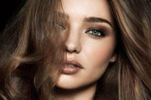 Miranda Kerr, Women, Model, Face, Brunette, Blue eyes