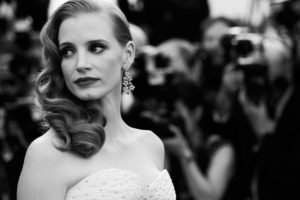 Jessica Chastain, Women, Redhead, Actress, Monochrome