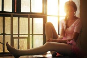backlighting, Women, Ballerina, Legs